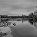 Bentley Pond Icing Over by Dale Kauzlaric