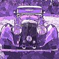 Bentley Violet Pop Art P2 by David King