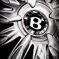 Bentley Wheel Emblem -0303ac by Jill Reger