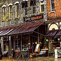 Bentleys Restaurant Woodstock Vermont by Mim White