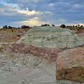 Bentonite Dunes Along Little Park Road by Ray Mathis