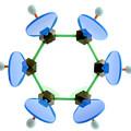 Benzene Molecule by Lawrence Lawry