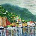 Bergen Harbor by Stan Sweeney