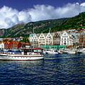 Bergen - Norway by Anthony Dezenzio