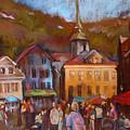 Bergen Square by Joan  Jones