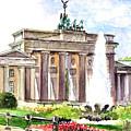 Berlin Brandenburg Gate by Georgi Charaka