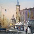 Berlin Clock Tower by Ryan Radke