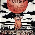Berlin Potolowsky - Friedrichstrass Passage - Germany - Retro Travel Poster - Vintage Poster by Studio Grafiikka