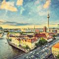Berlin Skyline by Zapista Zapista