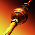 Berlin Television Tower - Berlin I Love You by Alexander Voss