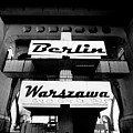 Berlin To Warsaw Frame 1  by Derek Moore
