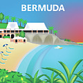 Bermuda Horizontal Scene by Karen Young