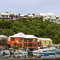 Bermuda Waterside Scene by Sally Weigand