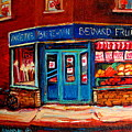Bernard Fruit And Broomstore by Carole Spandau