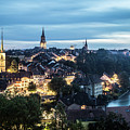 Berne At Night by Didier Marti