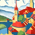 Berne Switzerland - Restored by Vintage Advertising Posters