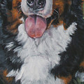 Bernese Mountain Dog Standing by Lee Ann Shepard