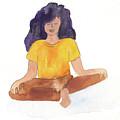Berni Meditating by Claud Brown
