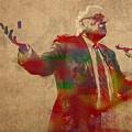 Bernie Sanders Watercolor Portrait by Design Turnpike