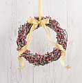 Berry Decorated Wreath by U Schade