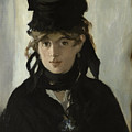 Berthe Morisot With A Bouquet Of Violets by Celestial Images