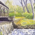 Beside The Dam by Sharon E Allen