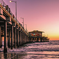 Beside The Pier By Mike-hope by Michael Hope