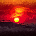 Beskidy Sunset by Mariola Bitner
