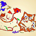 Best Buddies. Pet Series by Rafael Salazar