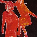 Besties - Dancing by Lori Kingston