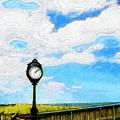 Bethany Beach Clock by Jeffrey Todd Moore
