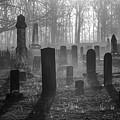 Bethany Church Cemetery 12 Bw by Jim Dollar