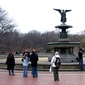 Bethesda Fountain by Anita Burgermeister
