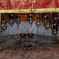 Bethlehem - Nativity Church - Silver Star by Munir Alawi