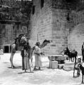 Bethlehem - Nativity Church 1920s by Munir Alawi