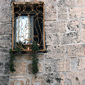 Bethlehem - Nativity Church Window by Munir Alawi