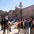 Bethlehem - Nativity Square Demonstration by Munir Alawi