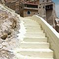 Bethlehem - The Way To Mar Saba Monstary by Munir Alawi