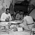 Bethlehem Mother Of Pearl Workers 1934 by Munir Alawi