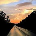 Bethlehem Road Sunset by Alecia Nelson