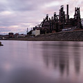 Bethlehem Steel Sunset by Jennifer Ancker