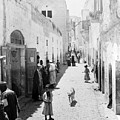 Bethlehem The Main Street 1800s by Munir Alawi