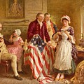 Betsy Ross 1777 by Jean Leon Gerome Ferris