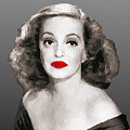 Bette Davis Draw by Quim Abella