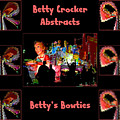 Betty Crocker's Abstracts - Betty's Bowties by Marian Bell