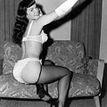 Betty Page Pin Up Girl 1950 by Peter Nowell