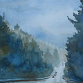 Between The Showers On Hwy 101 by Jenny Armitage