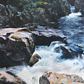 Betws-y-coed Waterfall by Harry Robertson