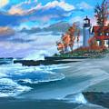 Betzie Lighthouse by Robert Korhonen
