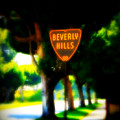 Beverly Hills Sign by Perry Webster